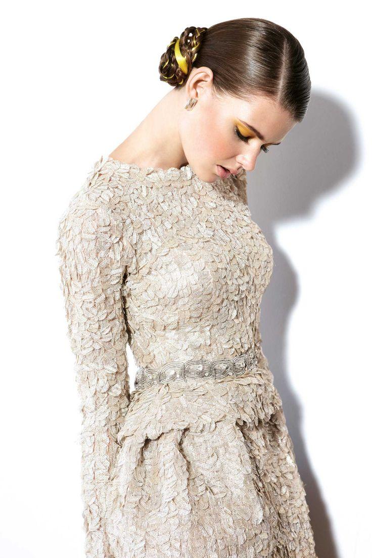 Special *New Year 2013* YC Cocktail dress.  #1384   www.yolancris.com/c/37-evening-gowns/403-1384/