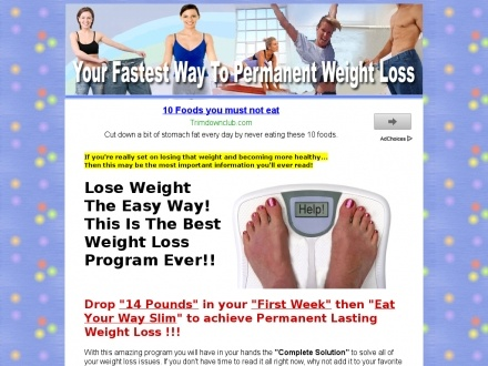 Lose weight bet