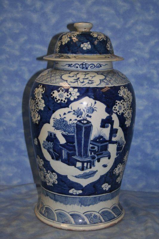 antique ginger jar - Ginger Jars