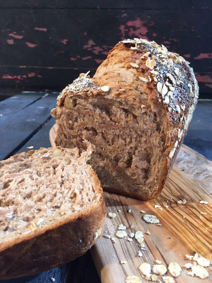 Haşhaş ve Yulaflı Ekmek Tarifi