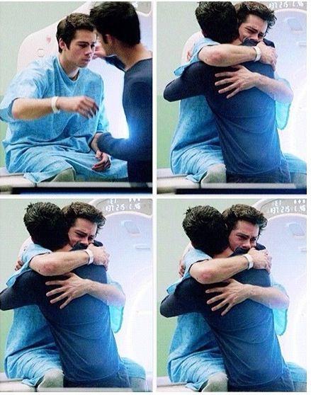 Dylan O'Brien (Stiles Stilinski) & Tyler Posey (Scott McCall) - Teen Wolf