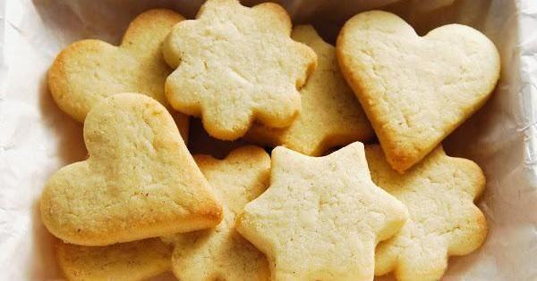 Galletas de mantequilla para tu boda, ¡apunta la receta!