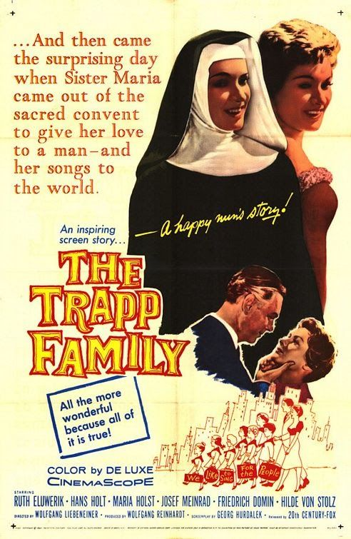 Rare film classics SILENT talkies TV on DVD: The Trapp Family (1956) 1st film based on Maria Von Trapp The Sound of Music DVD