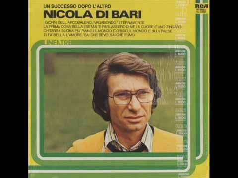 Nicola di Bari - Il Cuore e Uno Zingaro - YouTube