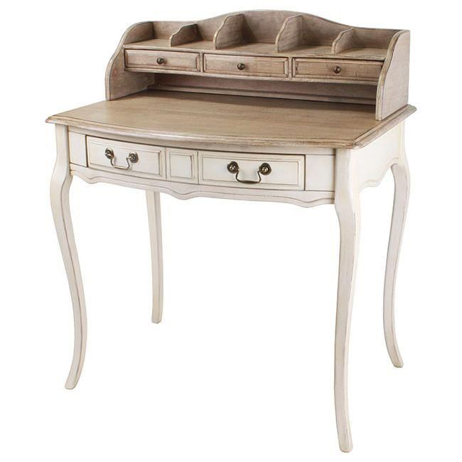 Stylish and delicate wooden #secreter www.inart.com