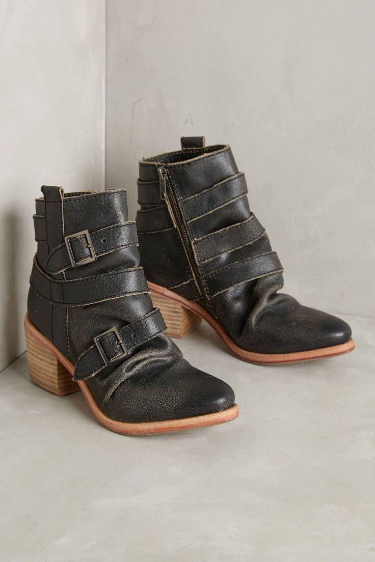 Slide View: 1: Kelsi Dagger Brooklyn Grand Buckle Ankle Boots