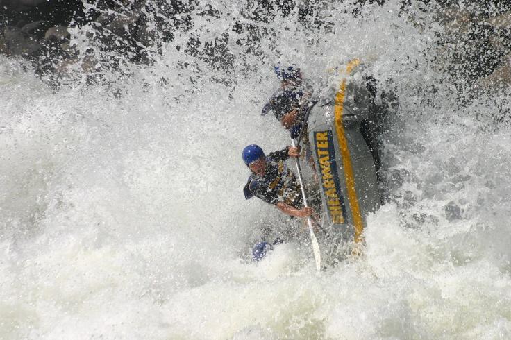 White river rafting, Zambezi River, Oct 2005