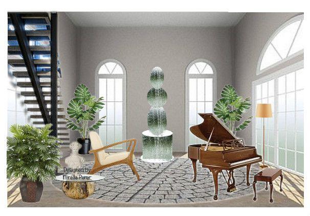 stanza della musica by mirellaparer | Olioboard