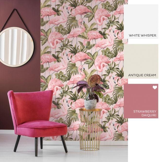 Flamingo Wallpaper Blush Pink Flamingo Wallpaper Pink Flamingo