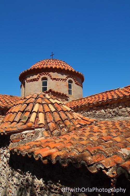 Mystra, Byzantine Monastic settlement, Greece