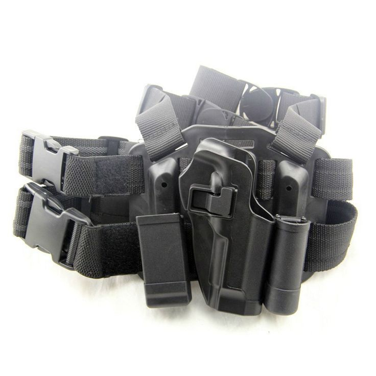 Tactical Holster RH Pistol Leg Paddle Holster Hunting Airsoft Gun Pouch For Beretta M9 M92