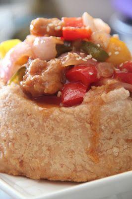 做个快乐的自己: 佛钵飘香(芋圈)+咕噜肉