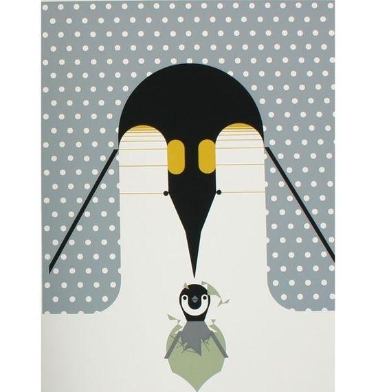 'Brrrrthday Penguin' by Charles Harper