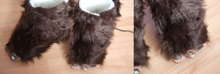 my finished Wicket (Ewok) costume : D - LOTS of PICTURES -