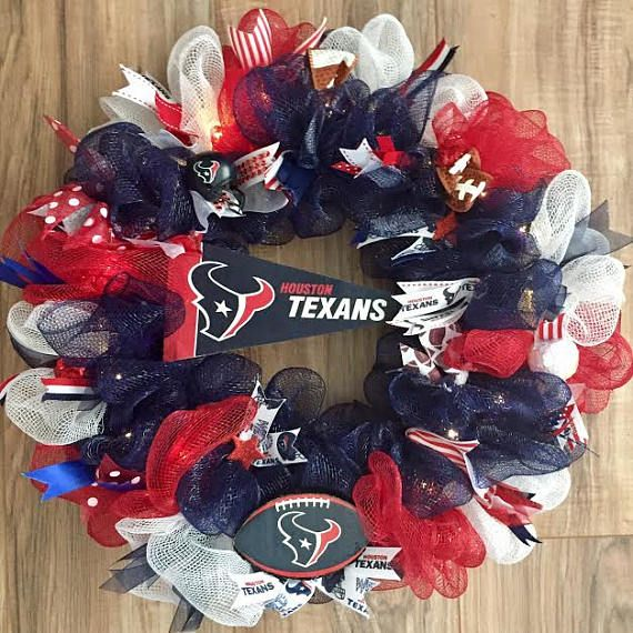 Houston Texans LED Wreath