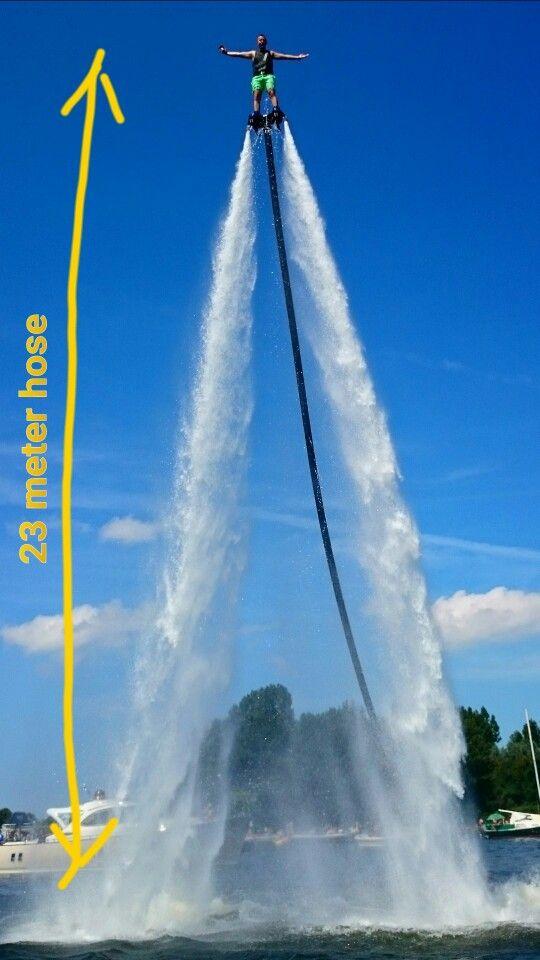 23 meter hose: