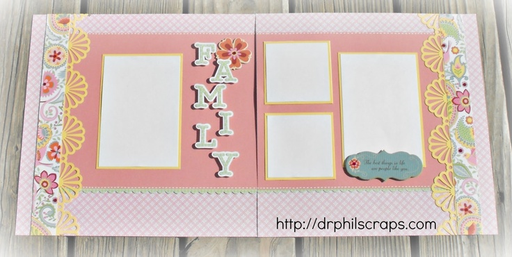 Chantilly layout by Stacey from Dr Phil Scraps DT