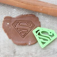 "Cookie cutter ""Superman. Stamp"" 9 cm"