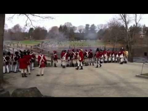 ▶ Battle of Concord Reenactment - YouTube