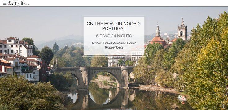 ON THE ROAD IN NOORD-PORTUGAL by Tineke Zwijgers and Dorien Koppenberg. http://www.peecho.com/print/en/74860