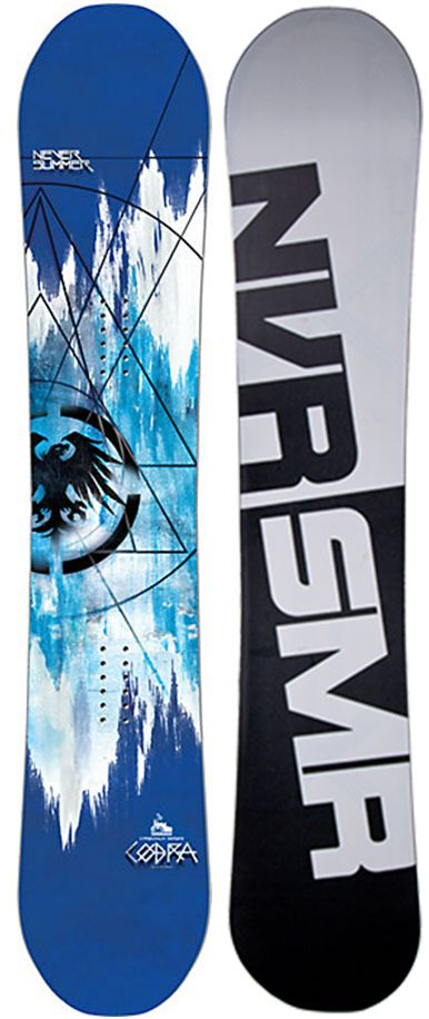 Never Summer Cobra Snowboard - Men's Snowboarding - Winter 2015/2016 - Christy Sports