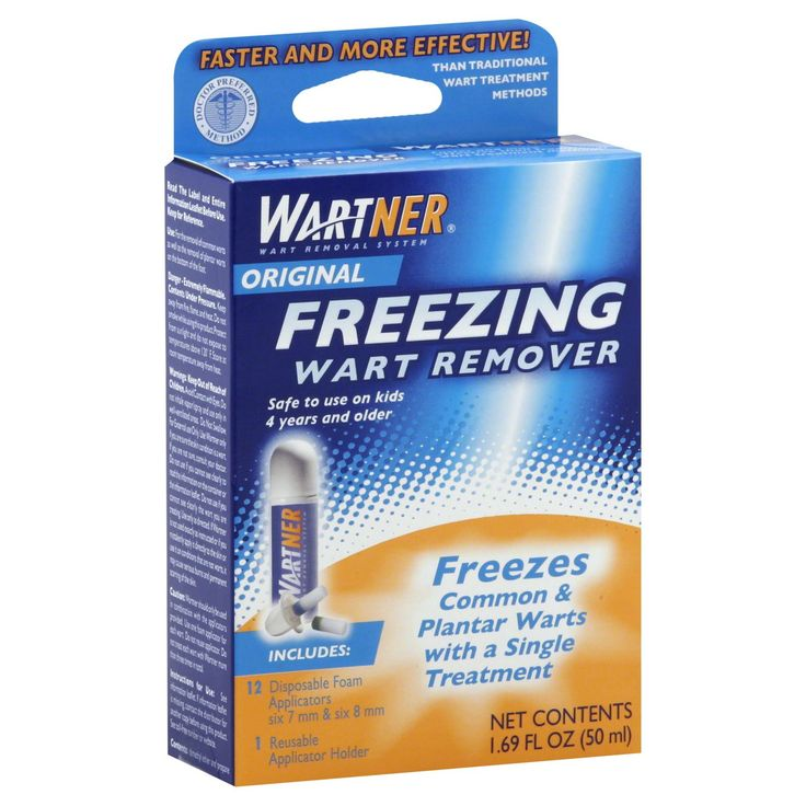 Wartner Freezing Wart Remover, Original, 1.69 fl oz (50 ml)