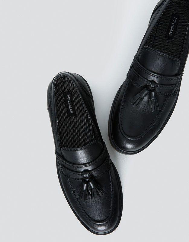 Mocasín borlas - Ver todo - Zapatos - Hombre - PULL&BEAR Colombia