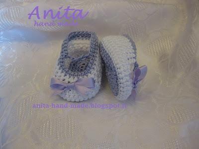 Schemi uncinetto: Scarpette all'uncinetto primaverili da neonata - Corredino a maglia e uncinetto - NostroFiglio.it