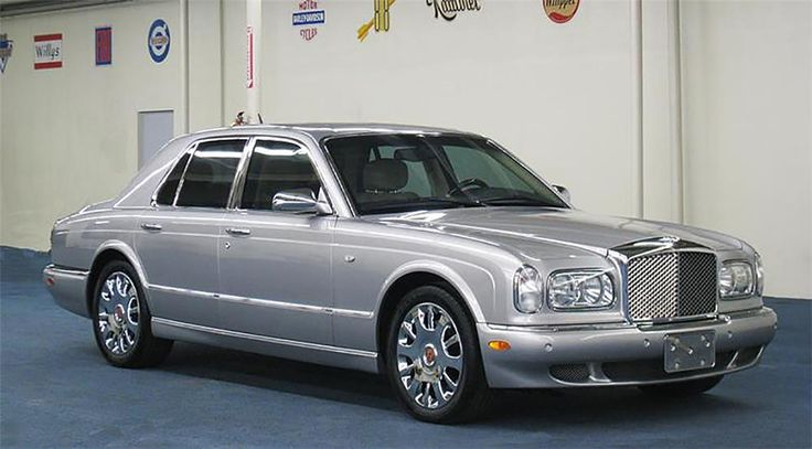This superb example has covered only 12,000 miles since new. Mileage not indicated on title. In 2004, only a total of 56 Bentley Arnage R. Mulliner sedans we...
