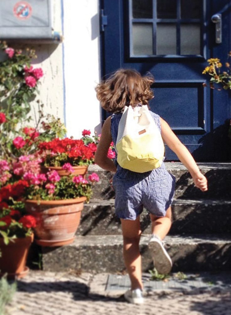 handmade organic cotton backpack for kids from berlin