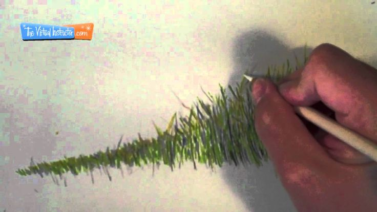 How to Draw Grass With Colored Pencils - This is the best tutorial! Actually helps!!!