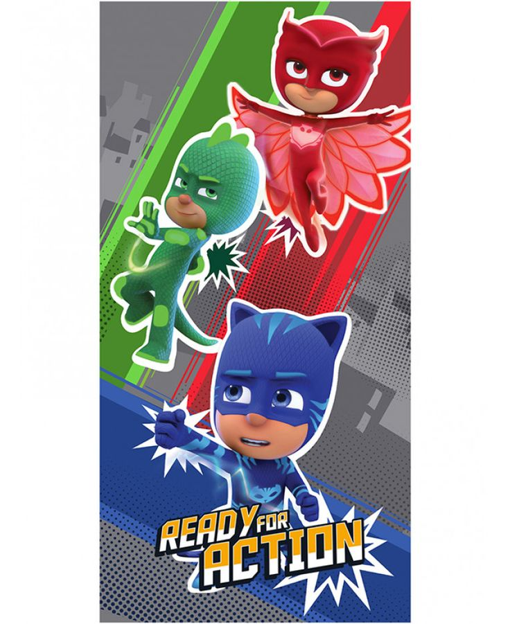 This PJ Masks Ready for Action Towel is ideal for use at the beach, the pool or at home and features Catboy, Owlette and Gekko. Free UK delivery available