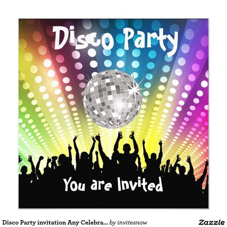 17 best images about einladungskarten party on pinterest | vorlage, Einladungskarten