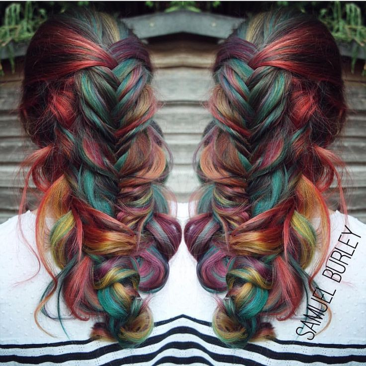 feathered hair styles 2473 best dyed hair images on colourful hair 3003