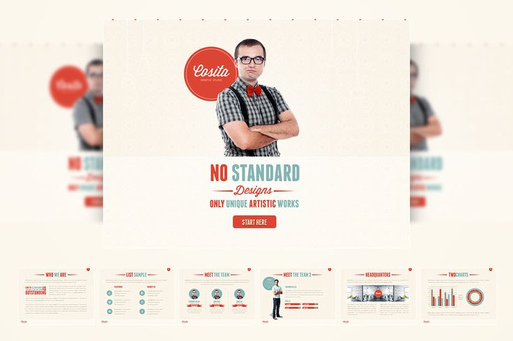 16 PowerPoint Templates That Look Great in 2016 ~ Creative Market Blog