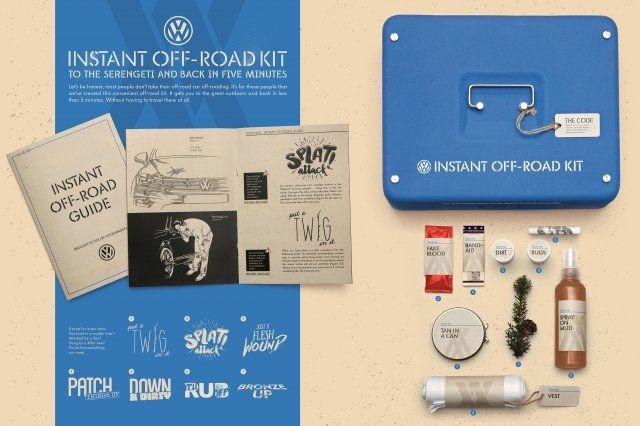 Volkswagen Touareg 2015: Off-road Kit