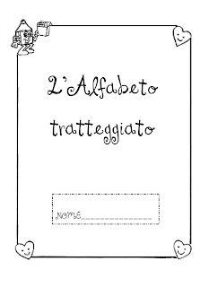 La maestra Linda : L'alfabeto tratteggiato