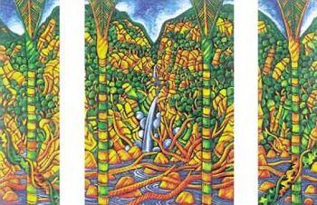 Nikau Waterfall by Dean Buchanan