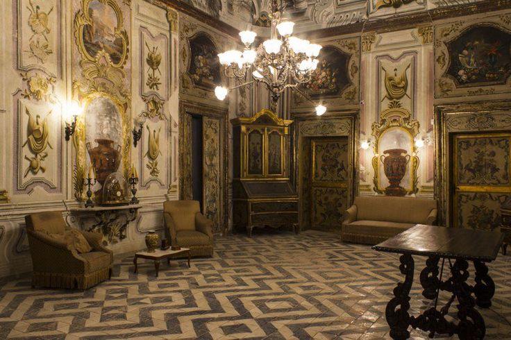 Villa De Cordova in Bagheria, Sicily now open for visits | more info at http://www.villasantisidorodecordova.it/sito/orari/