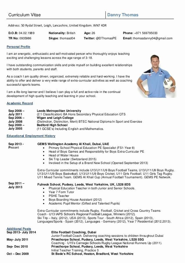 Sports Resume For Coaching Beautiful Image Result For Rugby Cv Template Exercises College Football Coaches Football Coach Soccer Coaching