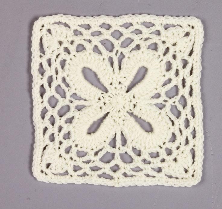 Block #16: Crochet Blocks, Crochet Granny, Krista Throw, Actual Squares, Crochet Squares, Granny Squares, Crocheted Granny