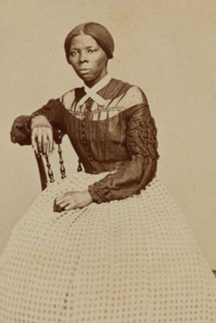 New Image Of Harriet Tubman From 1865 #usct #ugrr New Harriet Tubman Bus