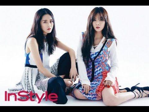 Girlband Korea 4Minute Instyle - Pose Imut nya bikin Gemes