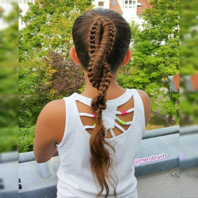 Chinese Staircase Braid Combo Hair Styles Braided