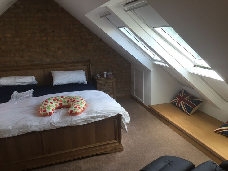Loft Conversion using Smoked Peach Brick Slips