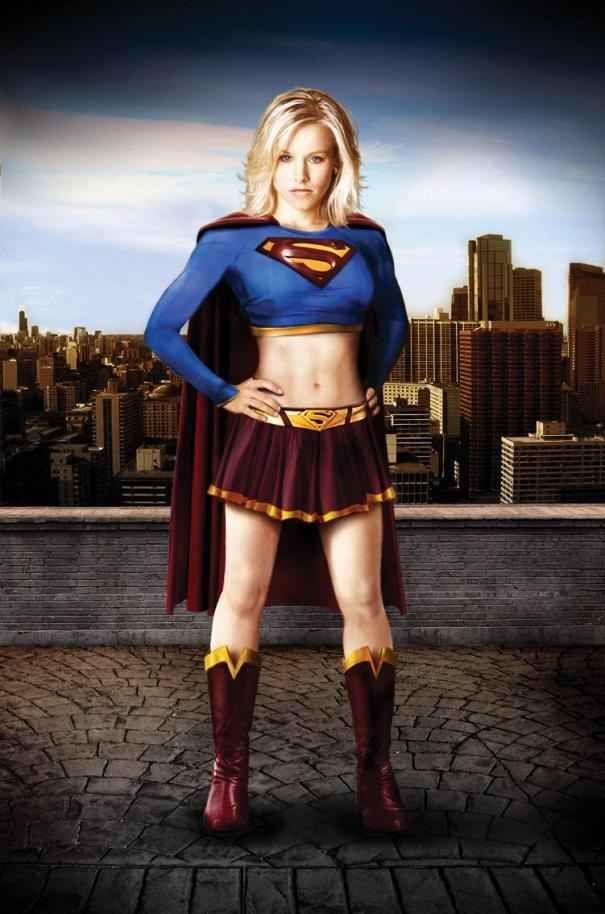 Kristen Bell as Supergirl | Nerding Out | Superhero ...