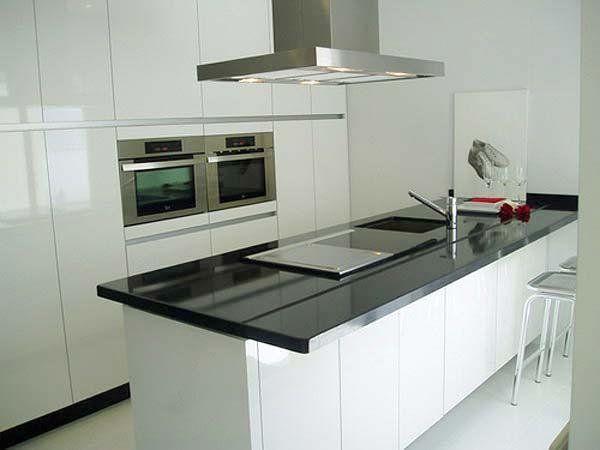 M s de 1000 ideas sobre cocinas en blanco y negro en - Cocinas en blanco y negro ...