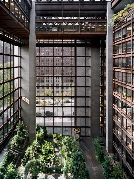 Ford Foundation atrium, New York. Dan Kiley.