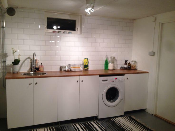 My laundryroom! Min tvättstuga!