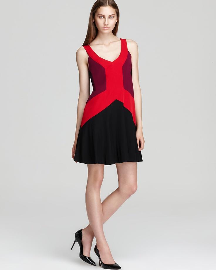 Jay Godfrey Shift Dress - Ullman Color Block - Dresses - New Arrivals - Boutiques - Women's - Bloomingdale's